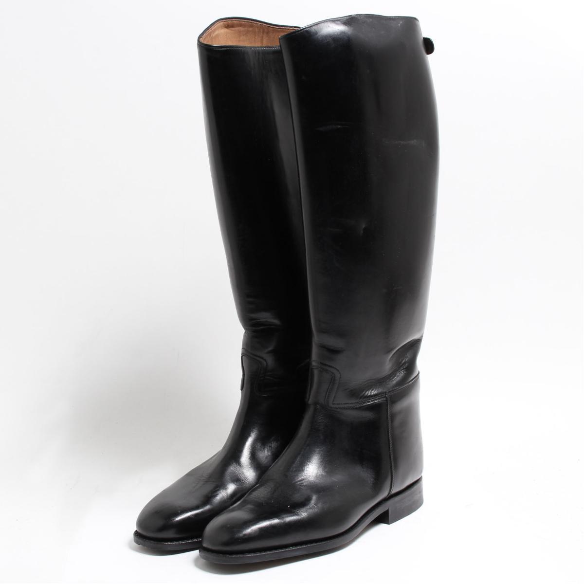 カバロ Cavallo ジョッキー乗馬ブーツ 7 レディース24.0cm /bon6778 【中古】 【180906】