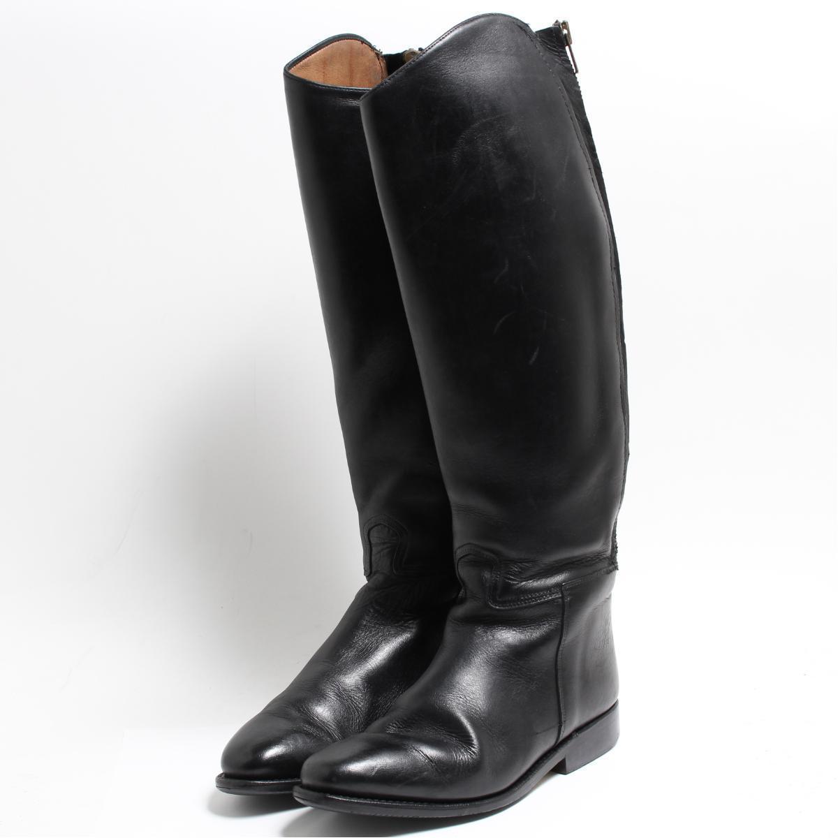 カバロ Cavallo ジョッキー乗馬ブーツ 6.5 レディース24.0cm /bon6560 【中古】 【180915】