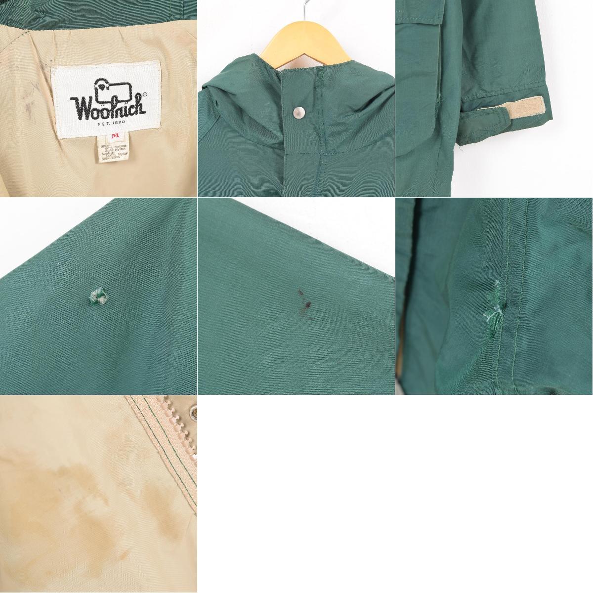 70年代 ウールリッチ WOOLRICH マウンテンパーカー メンズL ヴィンテージwau7989180906SS1909TS19110wPnOk