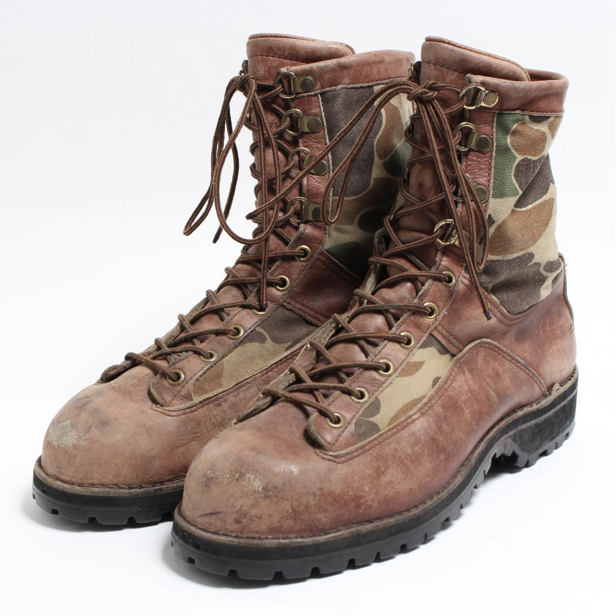 54f81e6f16c 10EE men 28.0cm vintage /bon6650 in the 80s made in Danner DANNER CABELA'S  work boots USA