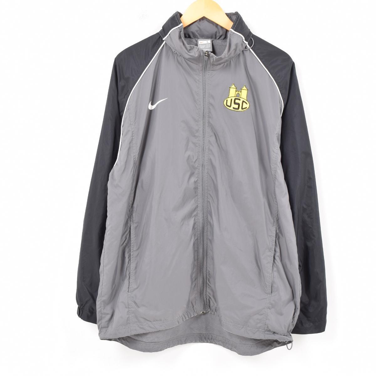 VINTAGE CLOTHING JAM  Nike NIKE food storing type nylon jacket men L ... d9f571ac0