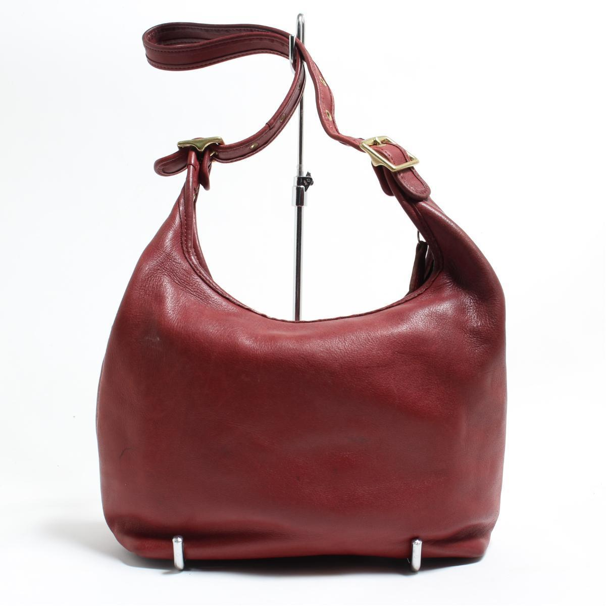 7eac06b9f81b Vintage  anb8983 made in coach COACH OLD COACH old coach genuine leather  leather shoulder bag USA