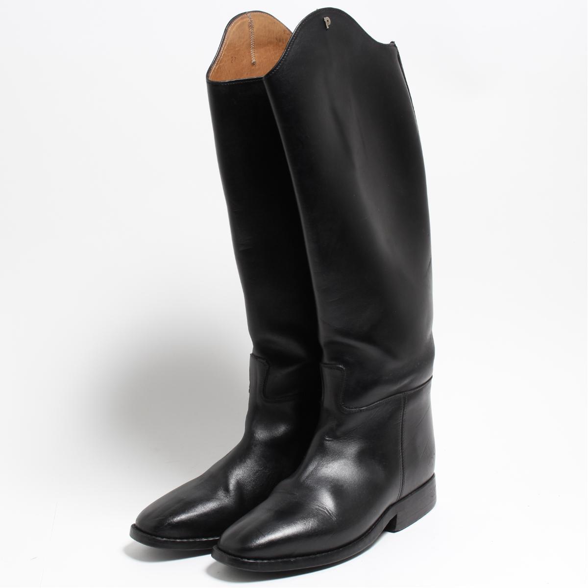 petrie ジョッキー乗馬ブーツ 4 レディース22.0cm /bon6097 【中古】 【180915】