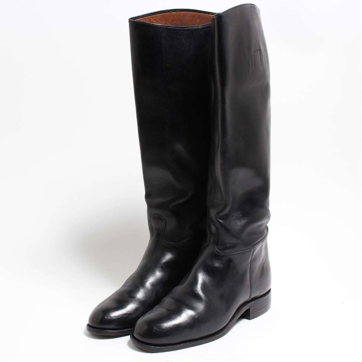 LUCHS ジョッキー乗馬ブーツ 4.5 レディース22.5cm /bon6099 【中古】 【180915】