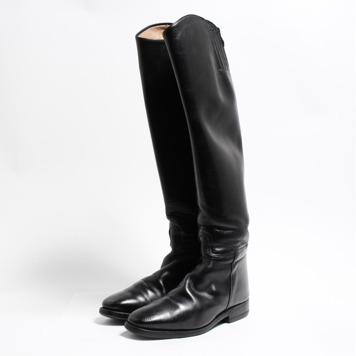 カバロ Cavallo ジョッキー乗馬ブーツ 5.5 レディース23.5cm /bon6107 【中古】 【180915】