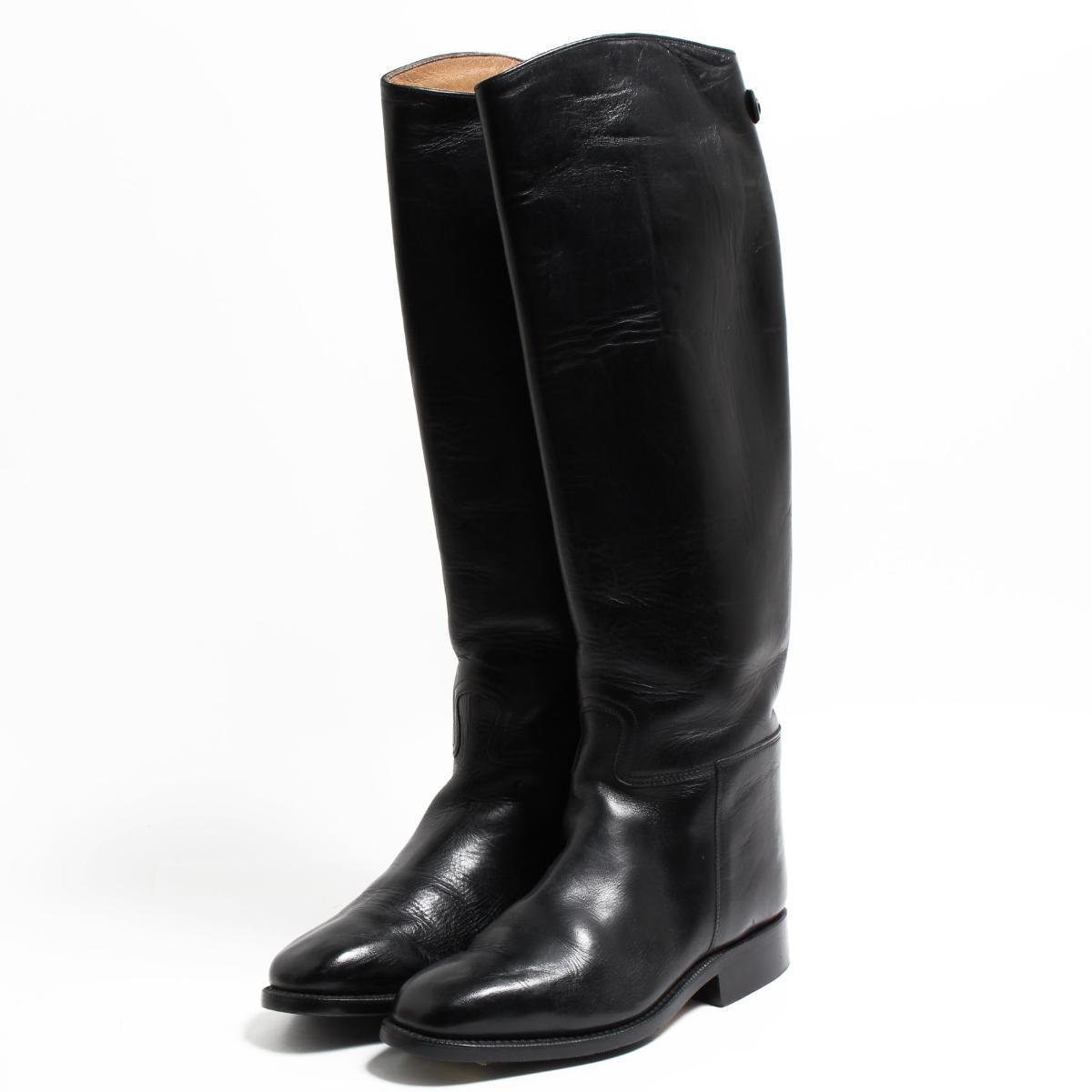 カバロ Cavallo ジョッキー乗馬ブーツ 5.5 レディース22.5cm /bon5984 【中古】 【180918】