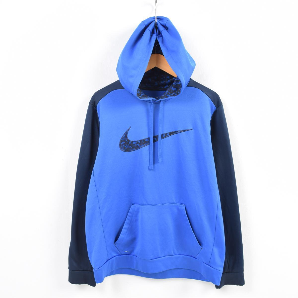 VINTAGE CLOTHING JAM  Nike NIKE THERMA-FIT jersey pullover parka men ... 07c459b55