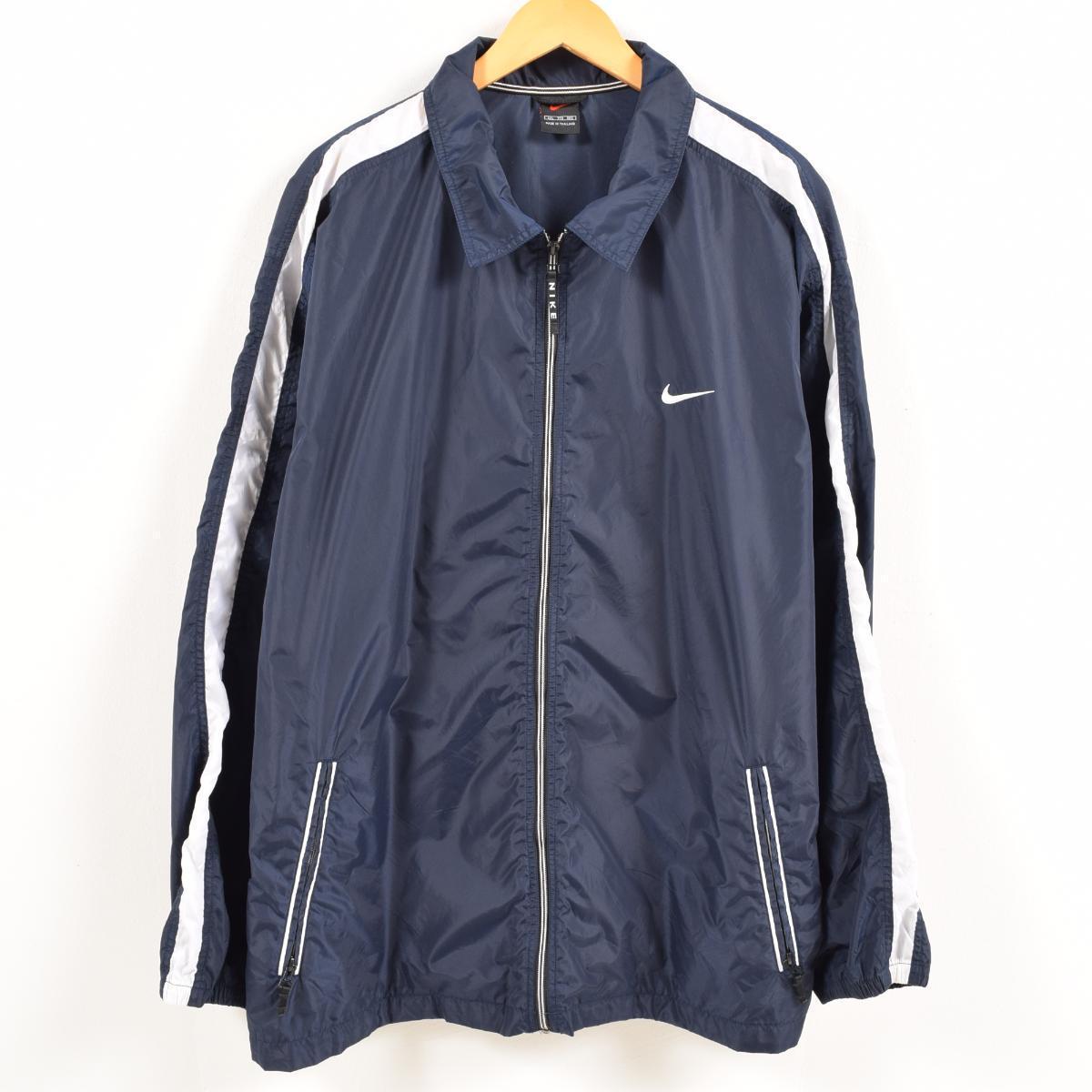 6595235e10 VINTAGE CLOTHING JAM  Nike NIKE nylon jacket men XXL  wax8224 ...