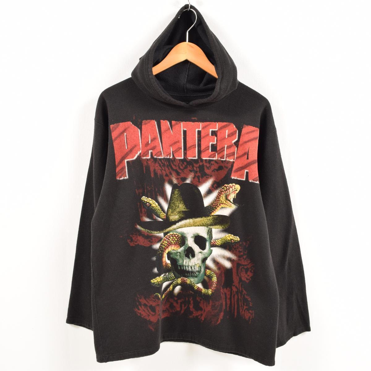 90年代~ PANTERA パンテラ バンド スウェットプルオーバーパーカー メンズM /wax8241 【中古】 【181002】