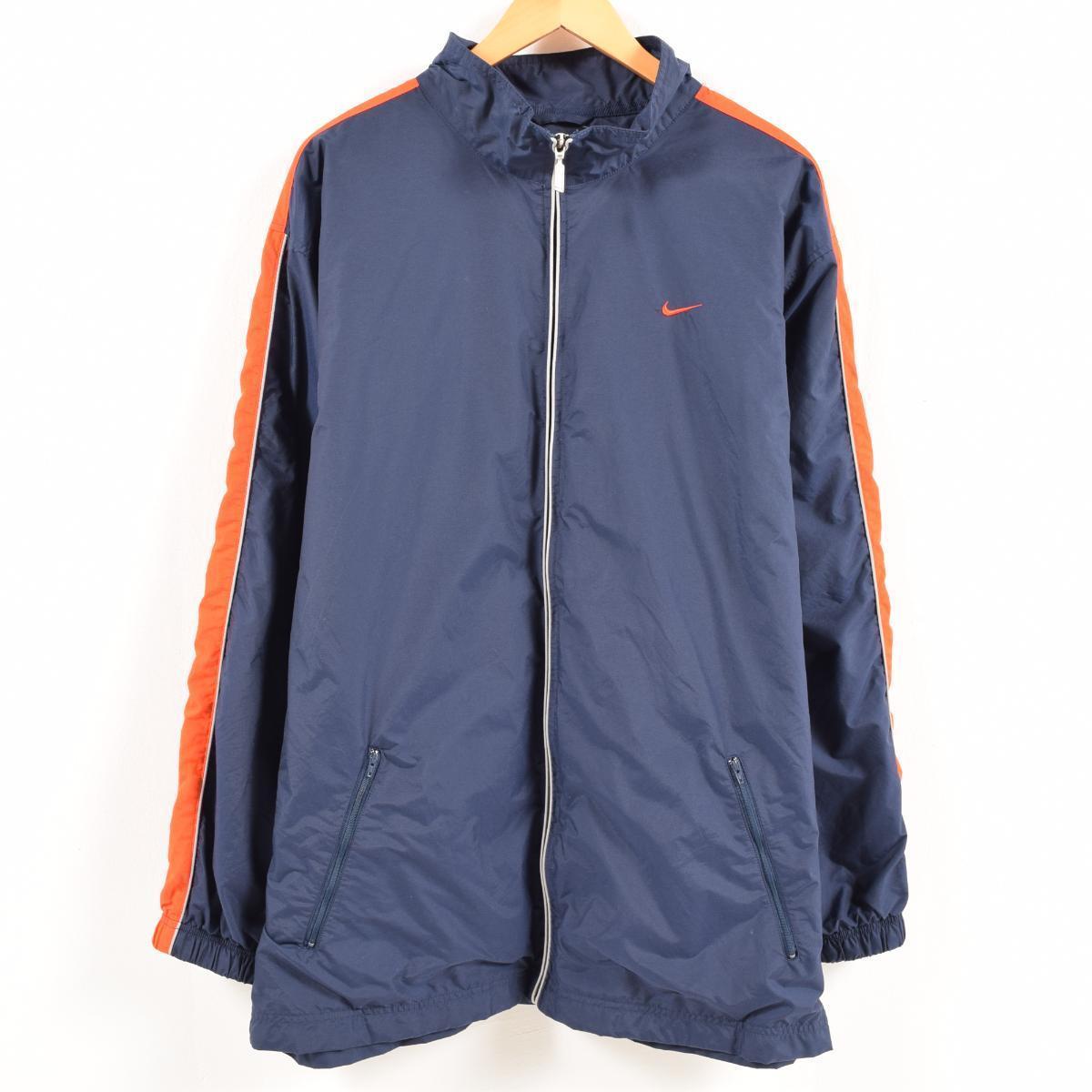 c4e3487708 VINTAGE CLOTHING JAM  Nike NIKE nylon jacket men XL  wax7849 ...