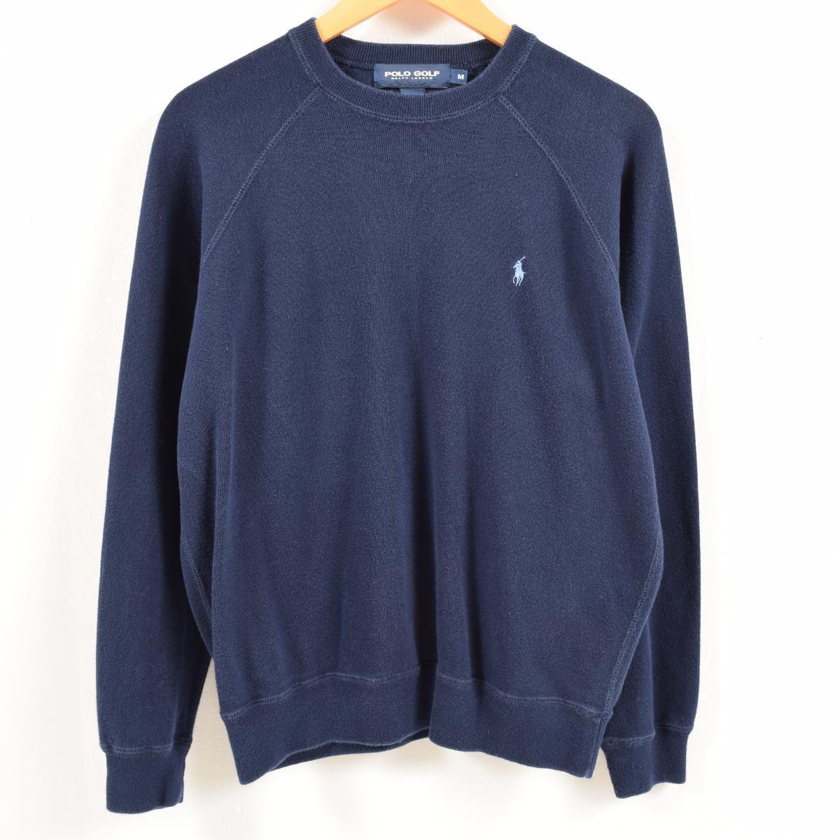 80a4d0094c2 Men S  waq1302 made in Ralph Lauren Ralph Lauren POLO GOLF polo golf cotton  knit sweater USA