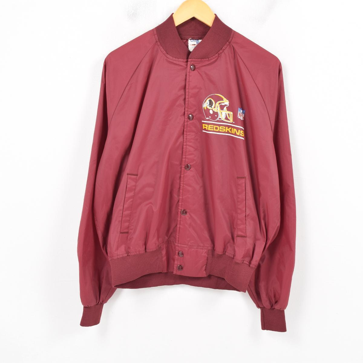 more photos c78a1 cf97d Men L vintage /wax9864 in the 80s made in CHALK LINE NFL WASHINGTON  REDSKINS Washington Redskins nylon award jacket Award jacket USA