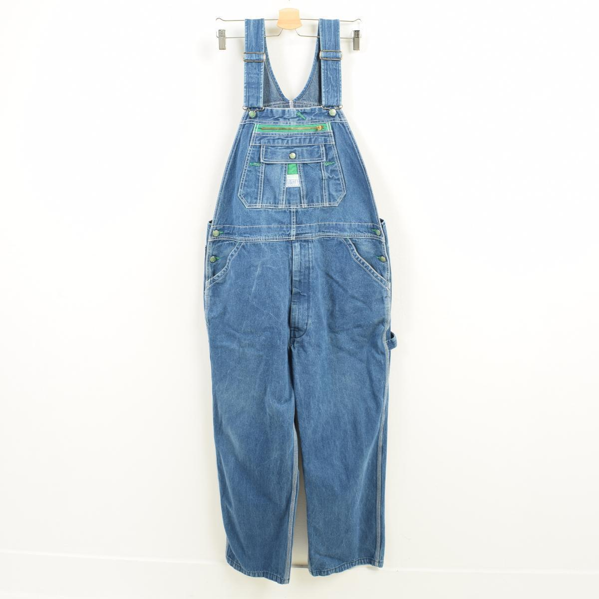 deac962b1e9d VINTAGE CLOTHING JAM  Big size LIBERTY denim overall men w41 ...