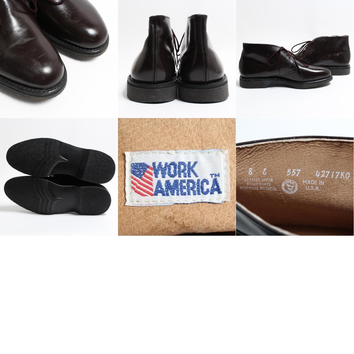 Work America Mens 8