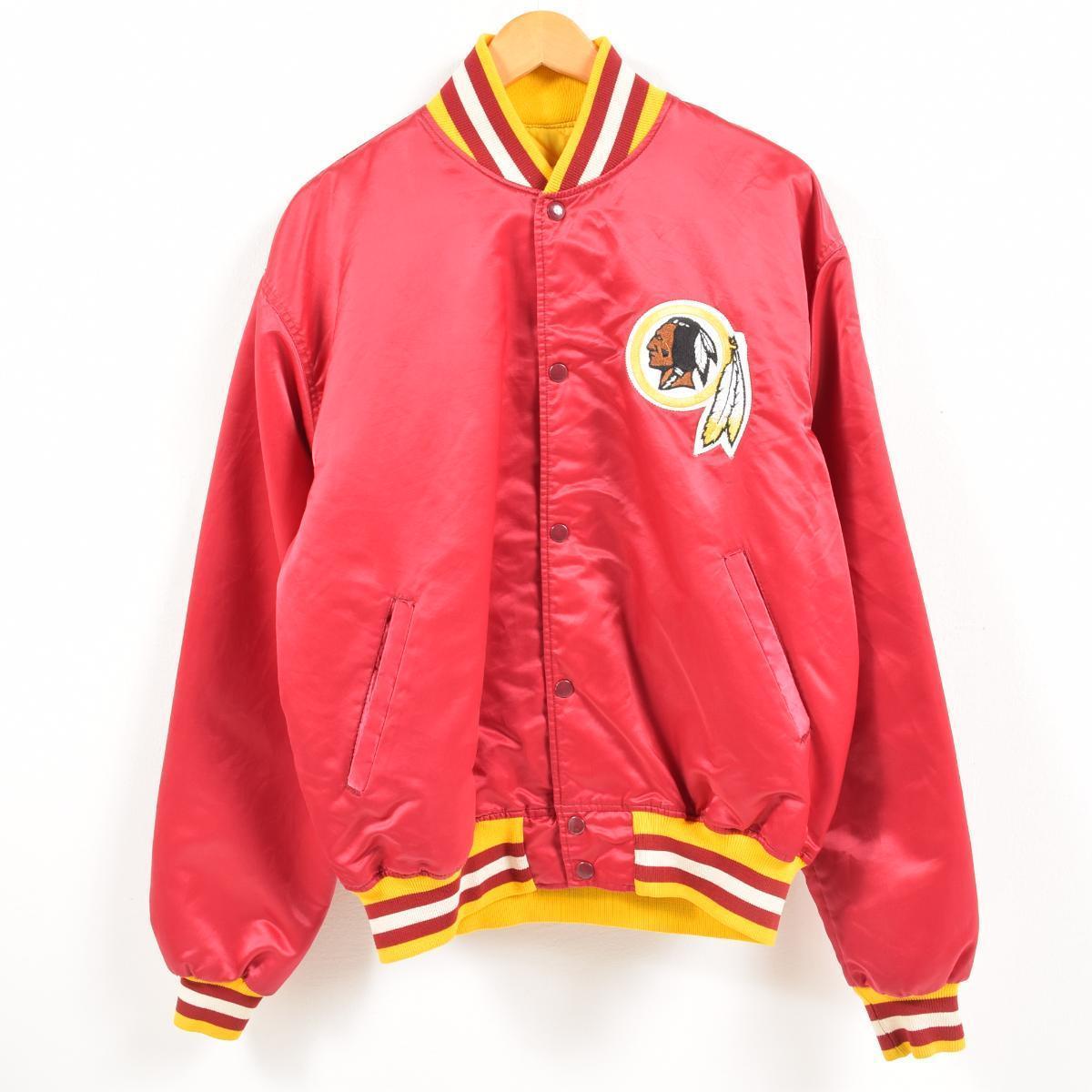 fcd1649e9 Men XL  waw7171 in the 90s made in starter Starter NFL WASHINGTON REDSKINS  Washington Redskins nylon award jacket Award jacket USA