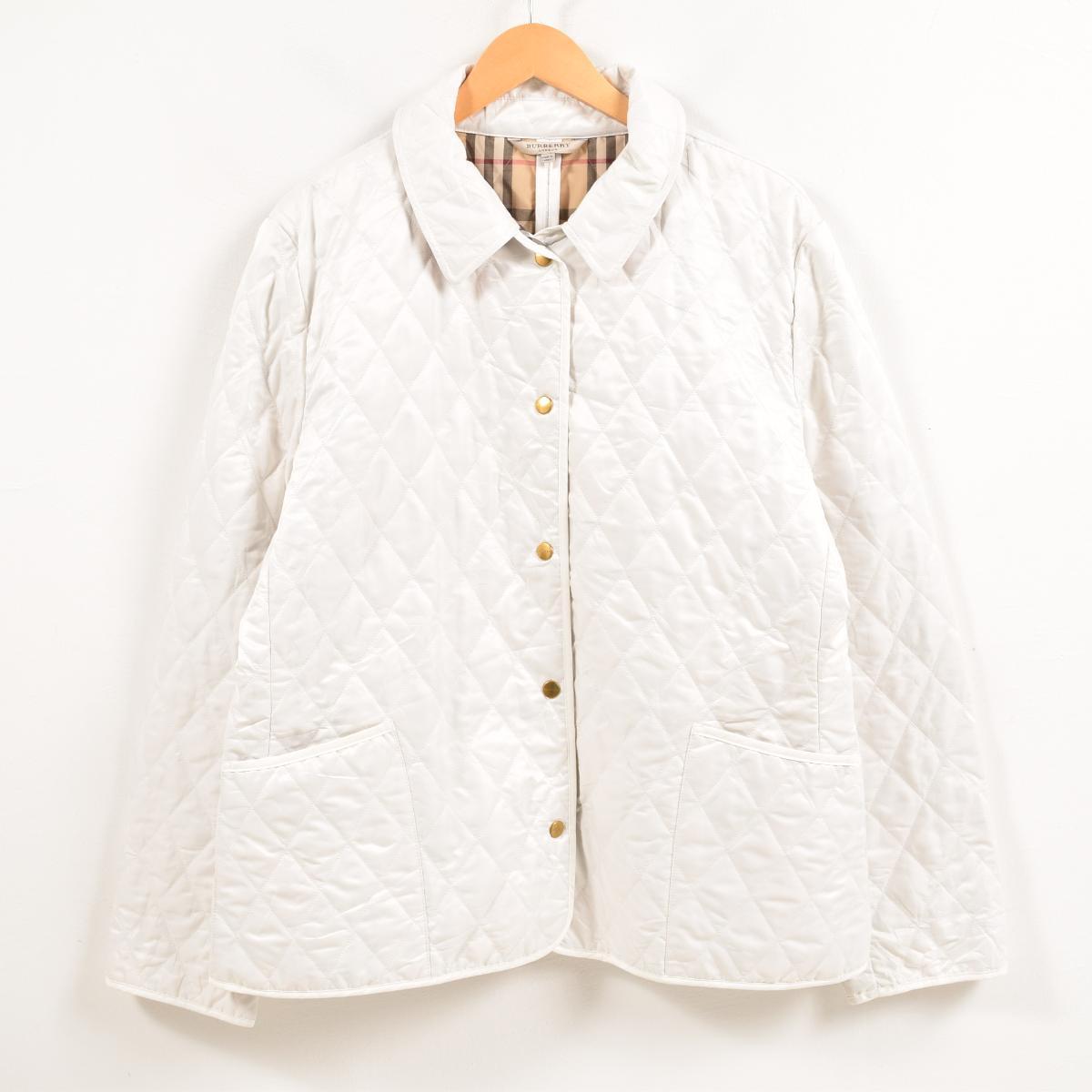 バーバリー Burberry's キルティングジャケット レディースXL /waw6869 【中古】 【181217】