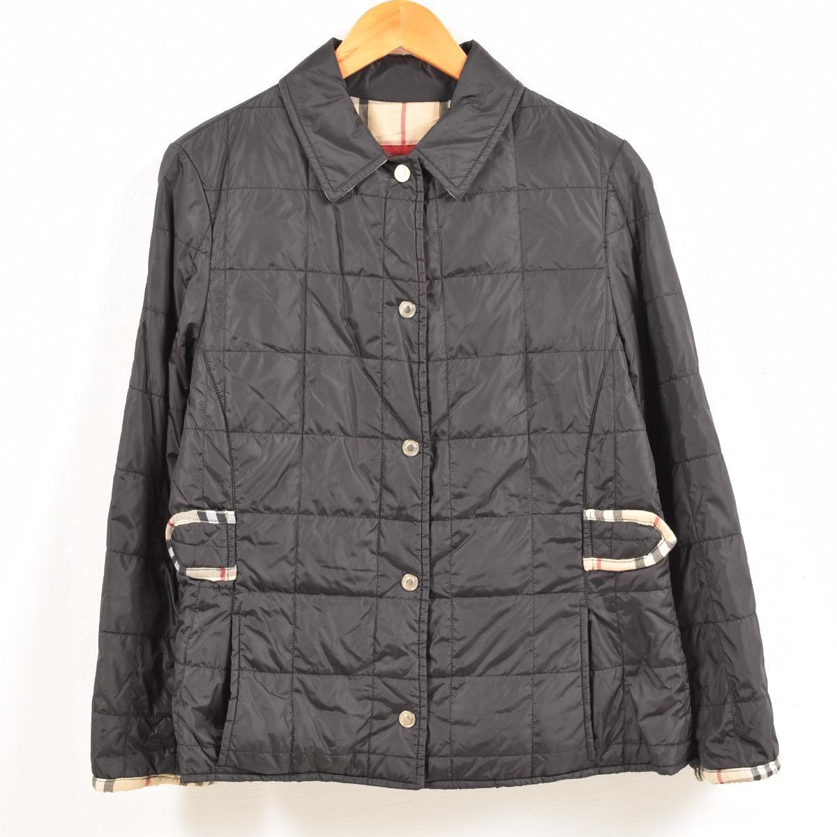 バーバリー Burberry's キルティングジャケット 英国製 レディースM /waw6872 【中古】 【181217】【SS1903】