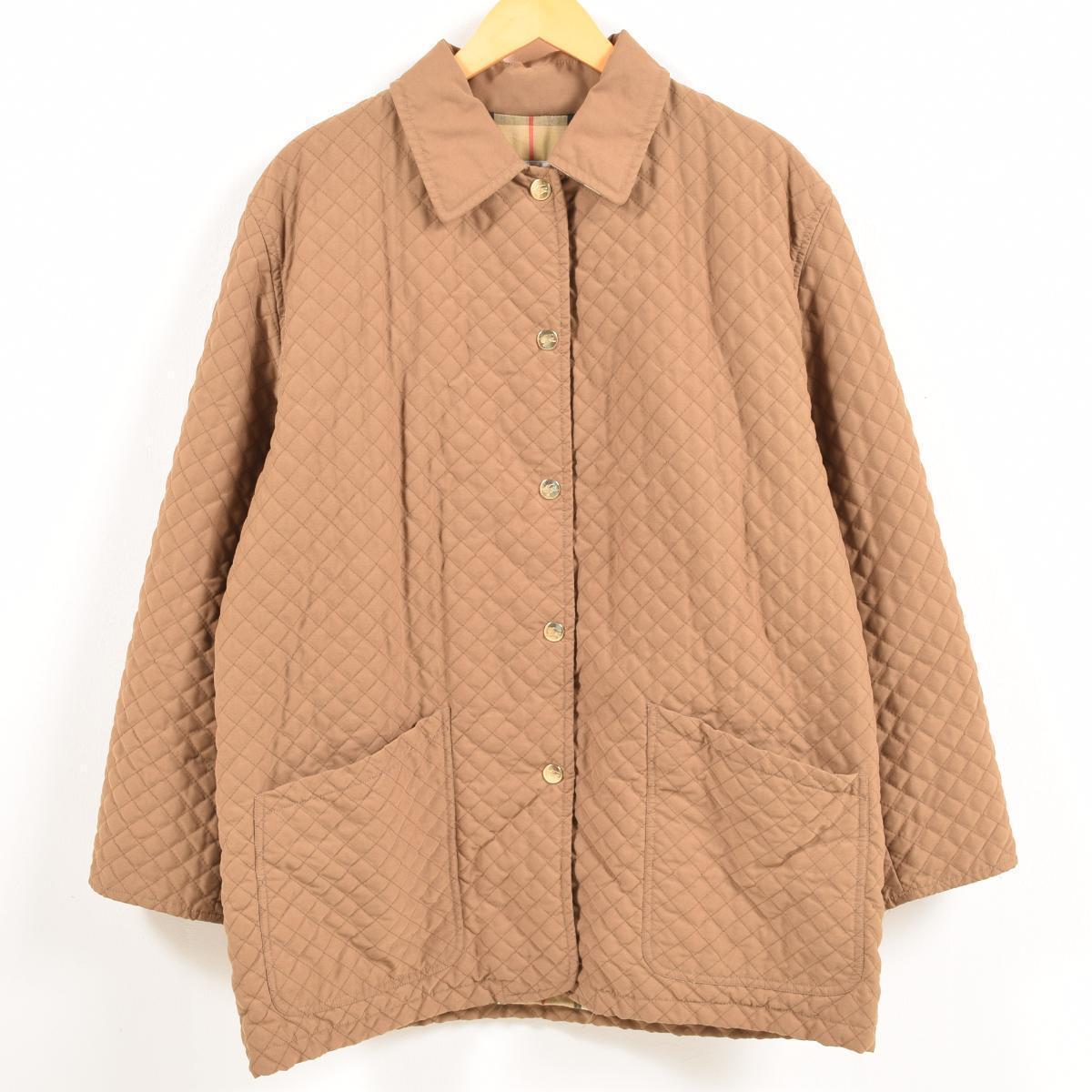 バーバリー Burberry's キルティングジャケット レディースXL /waw6874 【中古】 【181217】