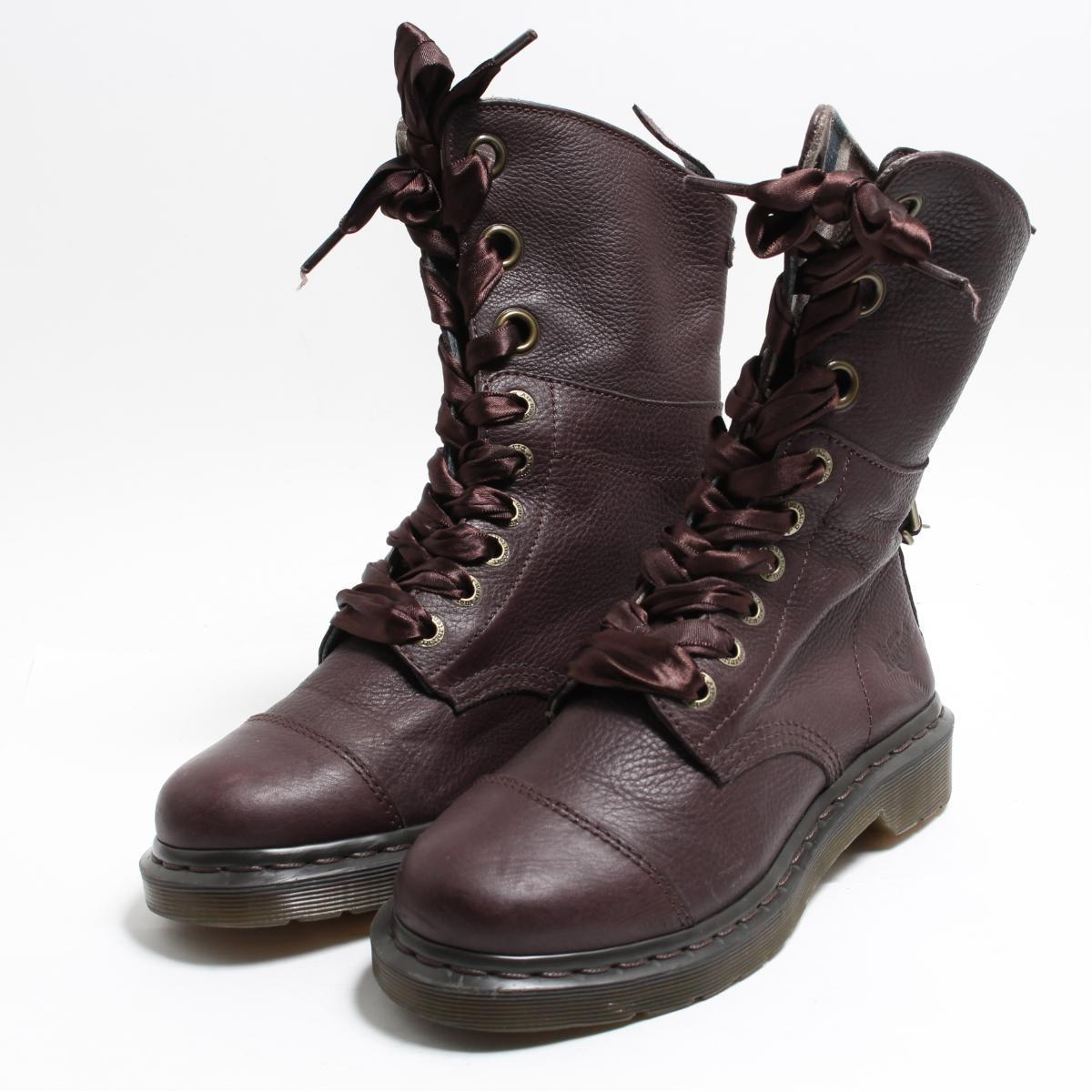 2a882bfc48b Doctor Martin Dr.Martens AIMILITA roll top 9 hall boots UK5 Lady's 23.5cm  /bon1969