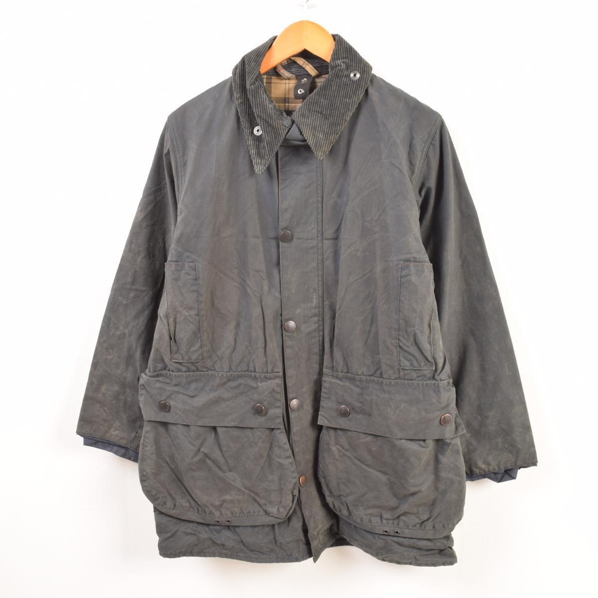 JAMリメイク バブアー Barbour リサイズ ワックスコットン オイルドジャケット 英国製 メンズS /wbb3772 【中古】 【190101】