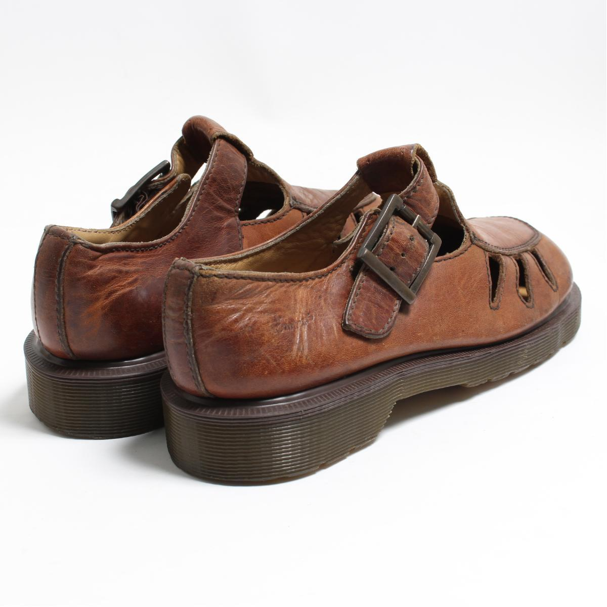... UK6 Lady's 24.5cm /bon2085 made in the doctor Martin Dr.Martens strap shoes ...