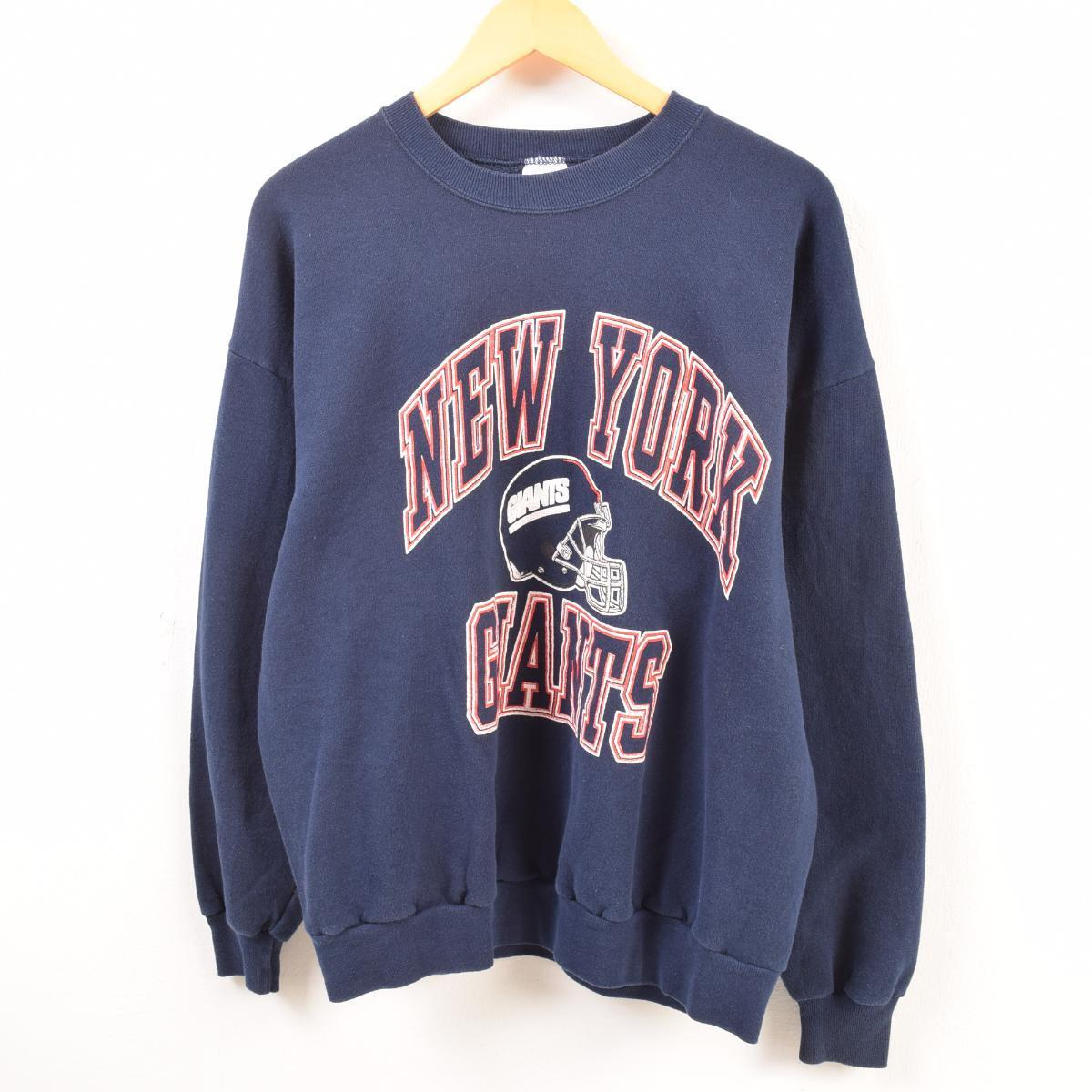 huge discount 99229 0f496 Men XL vintage /waw9411 in the 80s made in jerseys Jerzees NFL NEWYORK  GIANTS New York Giants sweat shirt trainer USA