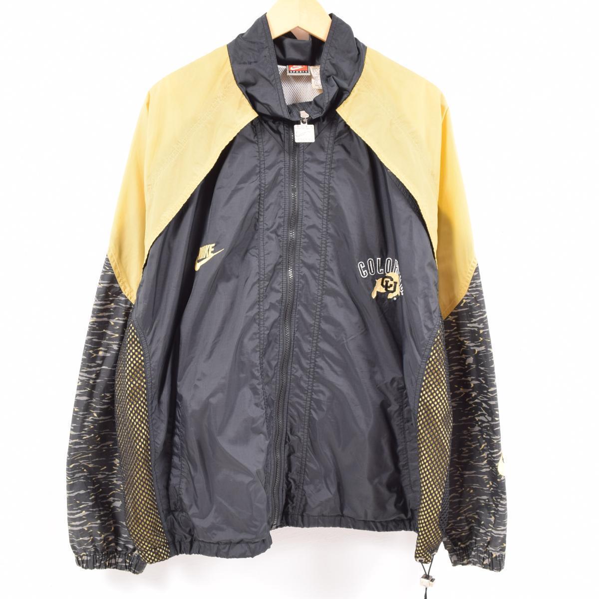 90s Nike NIKE Colorado university buffalo nylon jacket men XXL /waw6195
