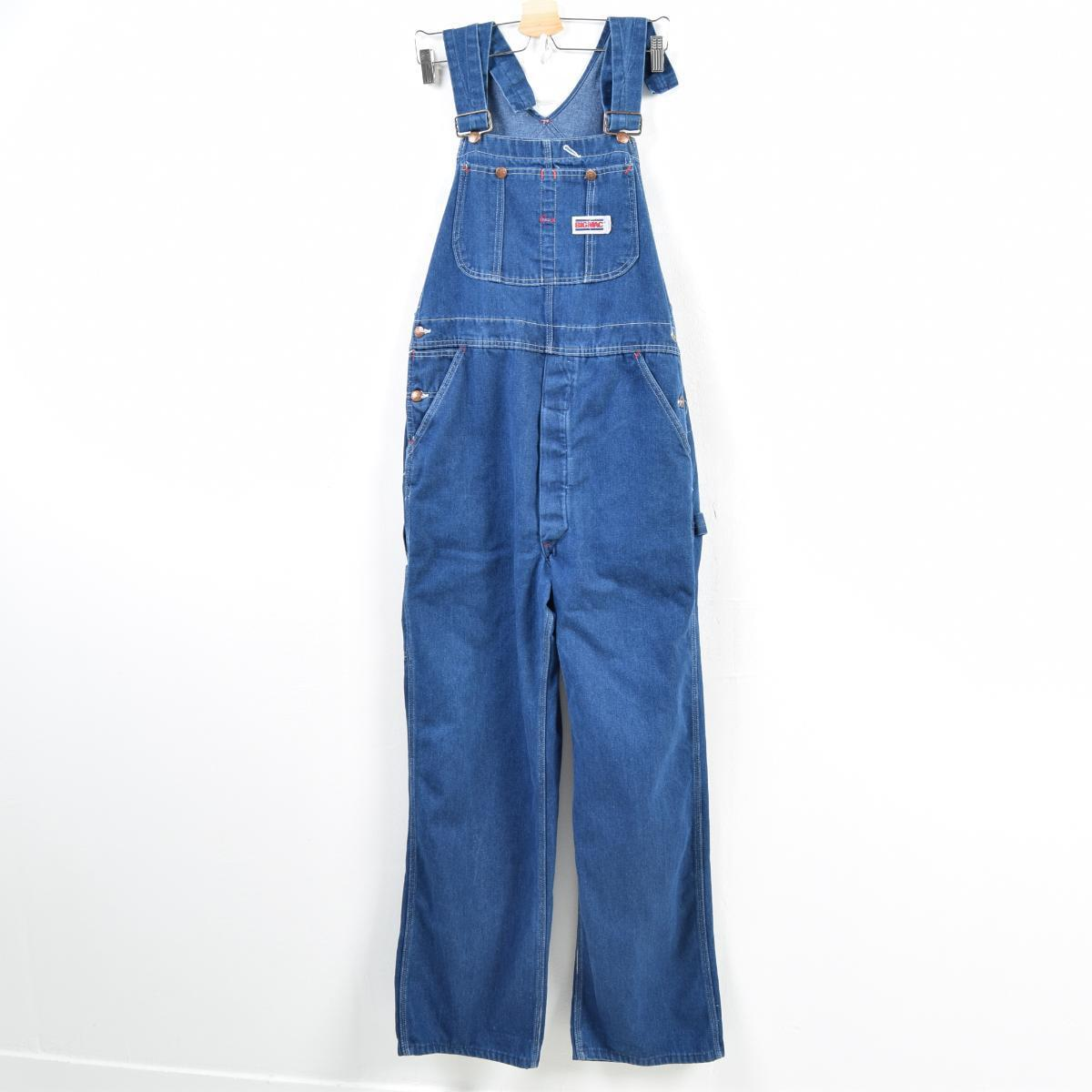 780588247d3b Men w36 vintage  wbb2505 in the 80s made in Big Mac BIG MAC denim overall  USA