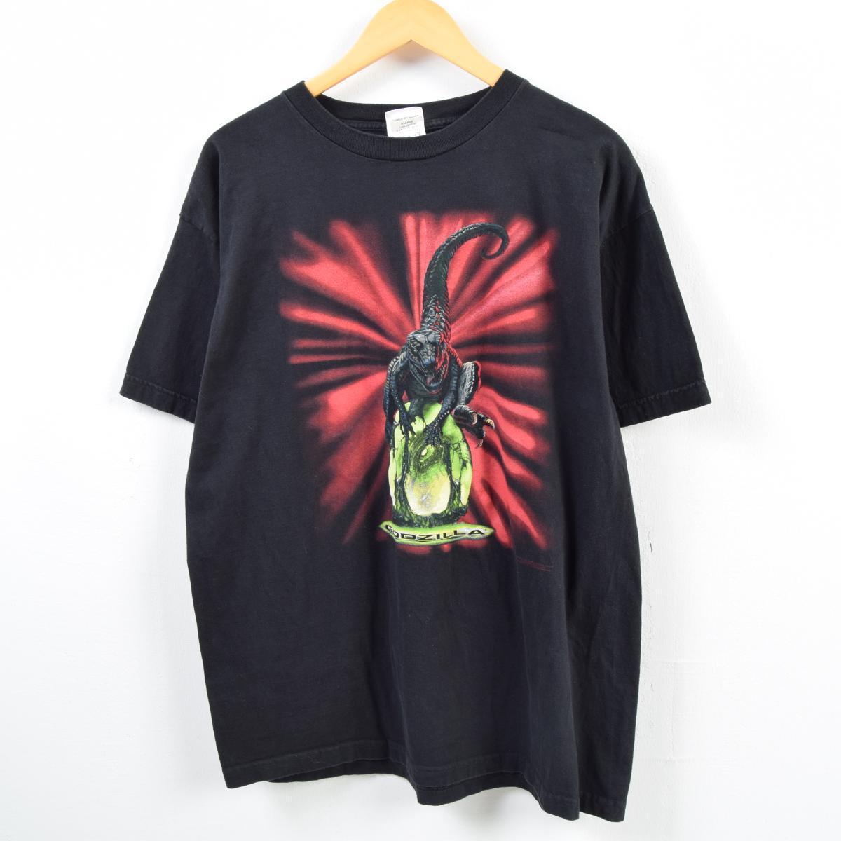 1998年製 CRONIES GODZILLA ゴジラ 映画 ムービーTシャツ メンズL /wbb2710 【中古】 【190129】
