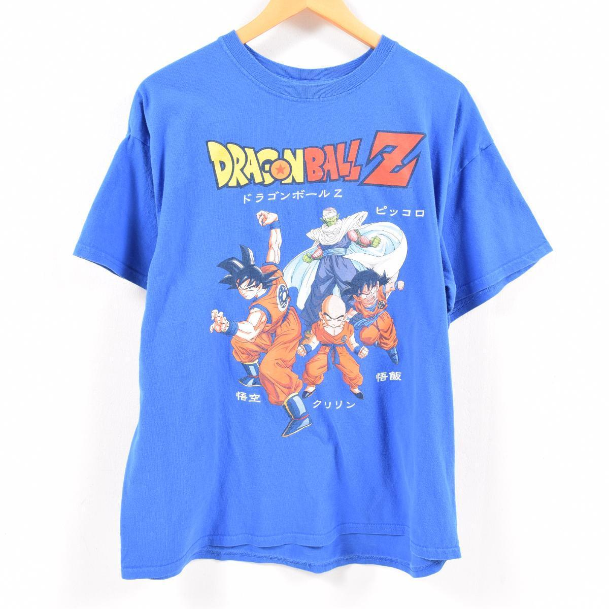 0e145031d Dragon Ball Z DRAGONBALL Z character print T-shirt Lady's XL /waw5789 ...