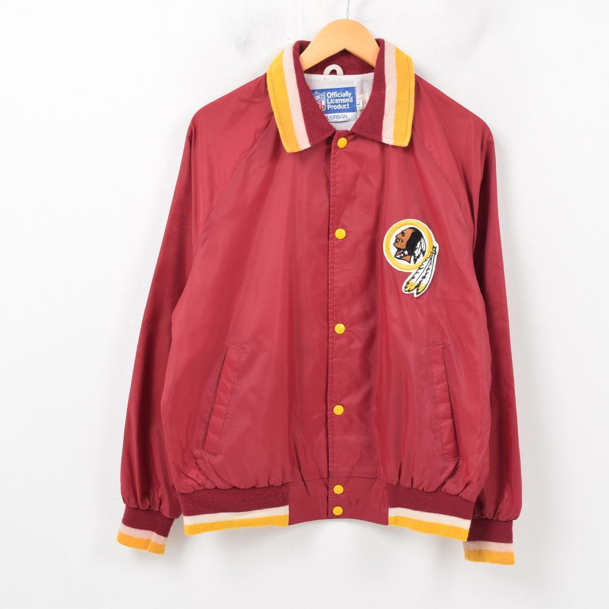 huge selection of b9444 438dc Men L /wbb1019 made in NFL OFFICIAL LICENSED PRODUCT NFL WASHINGTON  REDSKINS Washington Redskins nylon award jacket Award jacket USA