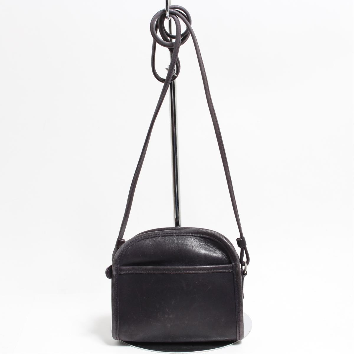 676bb34a12 Vintage /anc0696 made in coach COACH OLD COACH old coach genuine leather  leather pochette shoulder bag USA