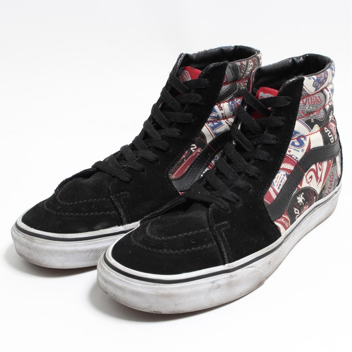 fad65d4ac8 Vans VANS SK8-HI high-top sneakers US9 men 27.0cm /bon3922