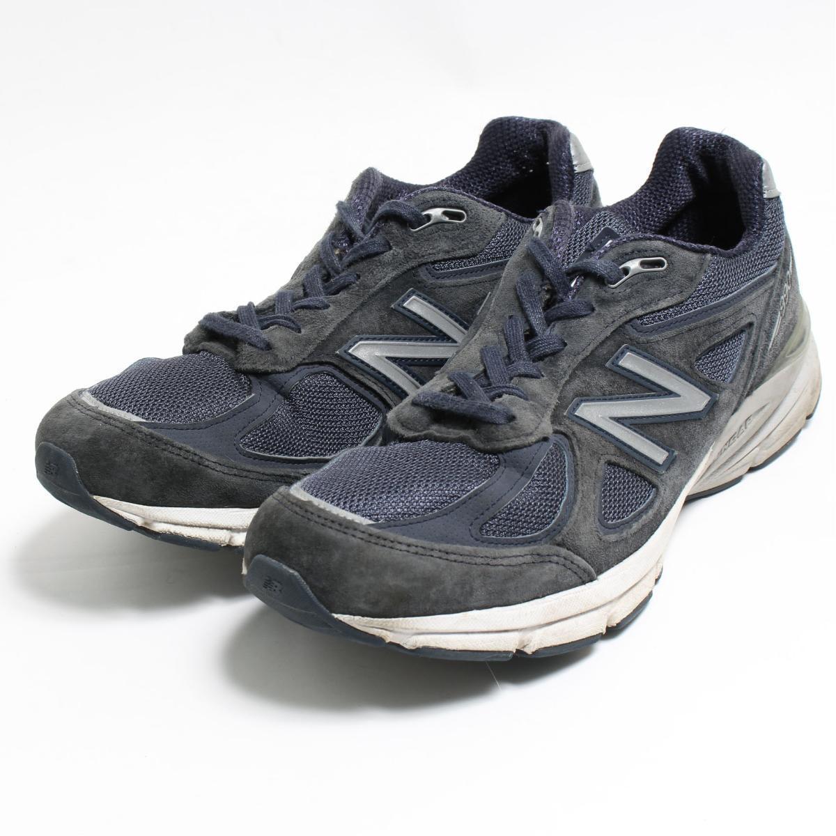 nouveau concept 0dcac 404ca 9.5D men 27.5cm /bon3901 made in New Balance NEW BALANCE M990 NV4 sneakers  USA