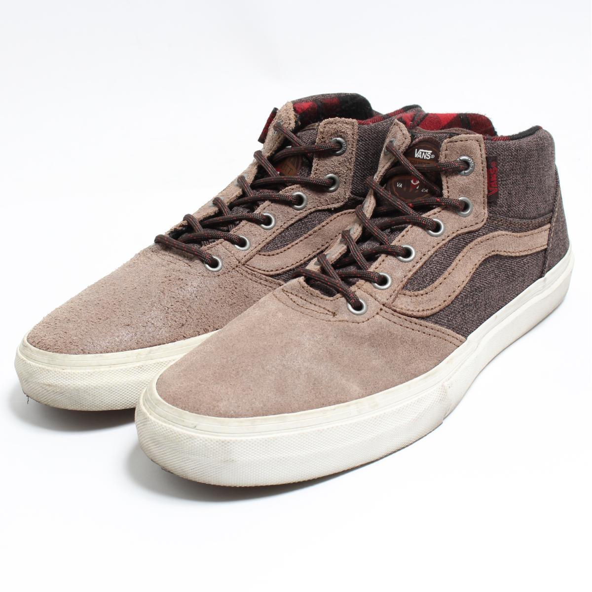 de702fe149 Vans VANS Gilbert Crockett Pro Mid higher frequency elimination sneakers  US9 .5 men s 27.5cm  bon4539