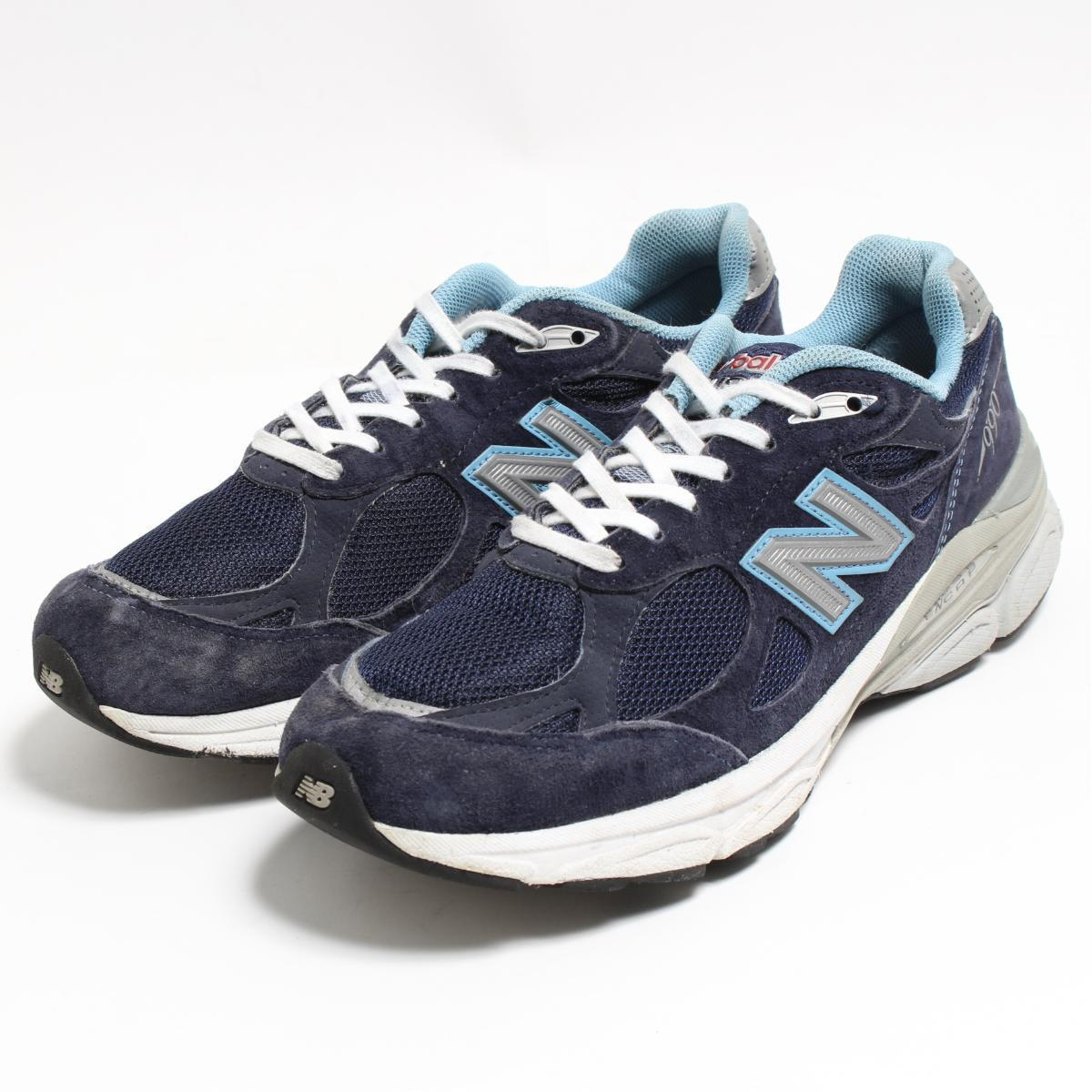 quality design 90bef d7a69 8.5AA Lady's 25.5cm /bon4571 made in New Balance NEW BALANCE W990NV3  sneakers USA
