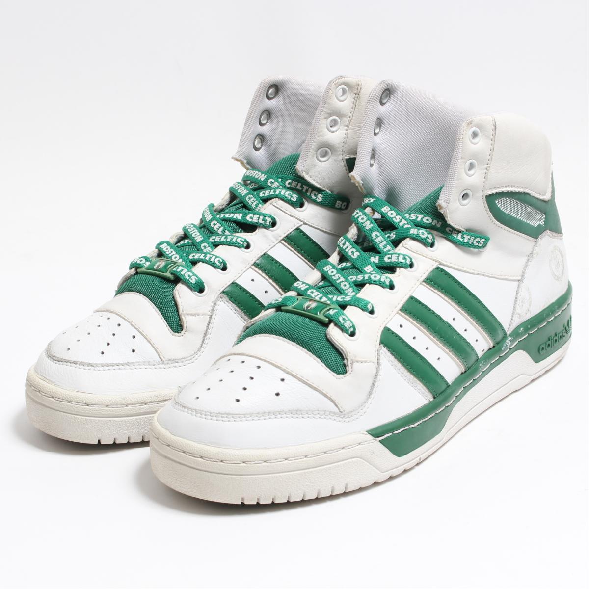 6ad869405ff Adidas adidas ATTITUDE HI NBA Boston Celtics higher frequency elimination  sneakers men 28.5cm  bon4324