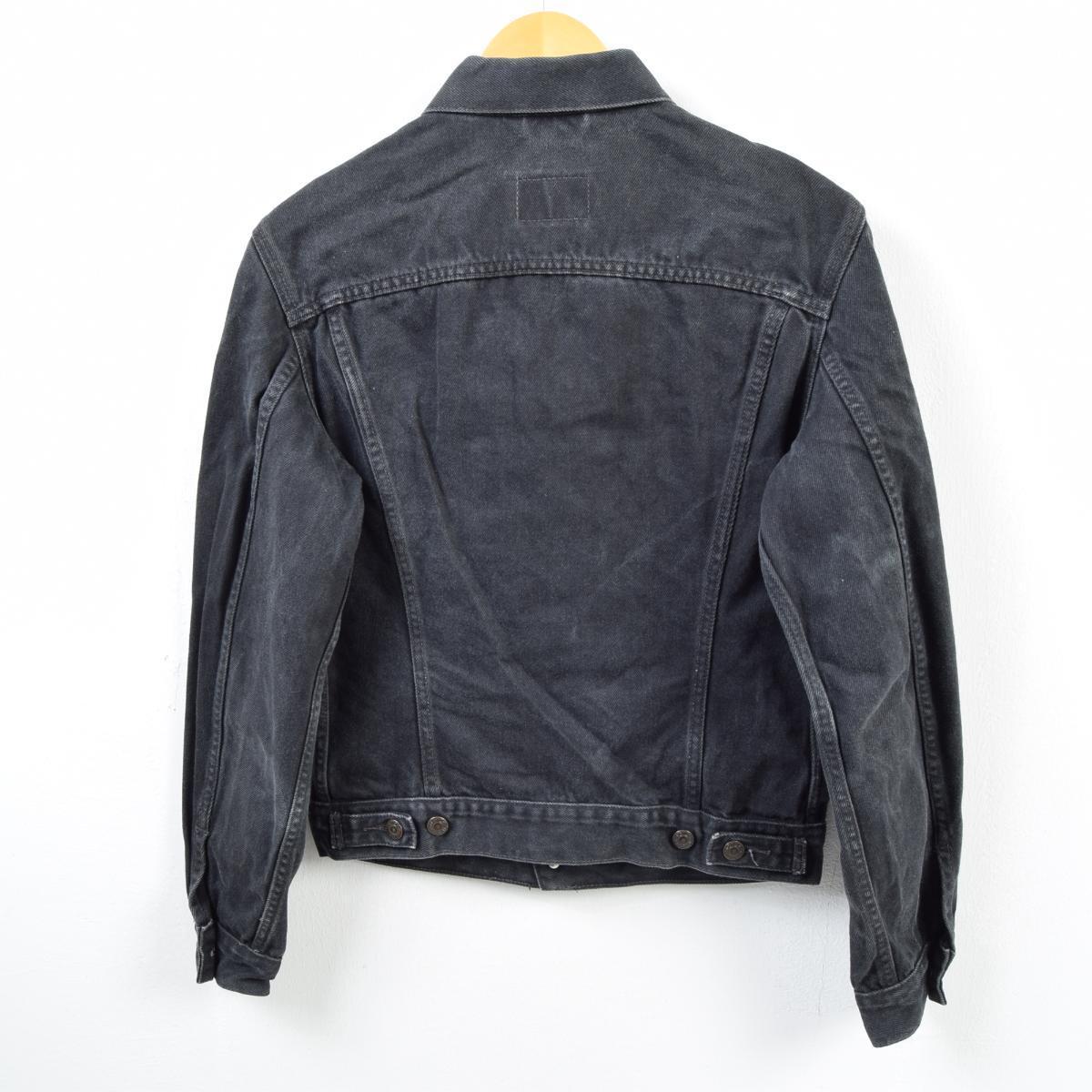 6084fdb7a16f ... 90s Levis Levi's FOR WOMEN black denim jacket G Jean Lady's L /wba5118  ...
