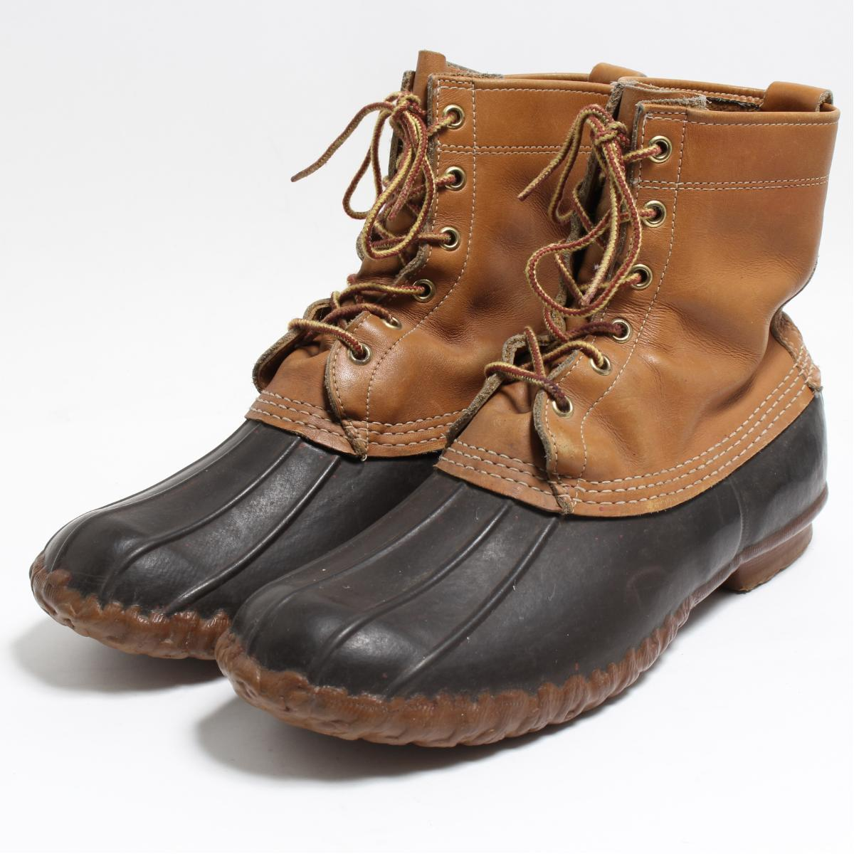 1847a101001 10M men 28.0cm vintage /boo8049 in the 70s made in ~ L. L. Bean L.L.Bean 8  inches 6 hall bean boots hunting boots USA
