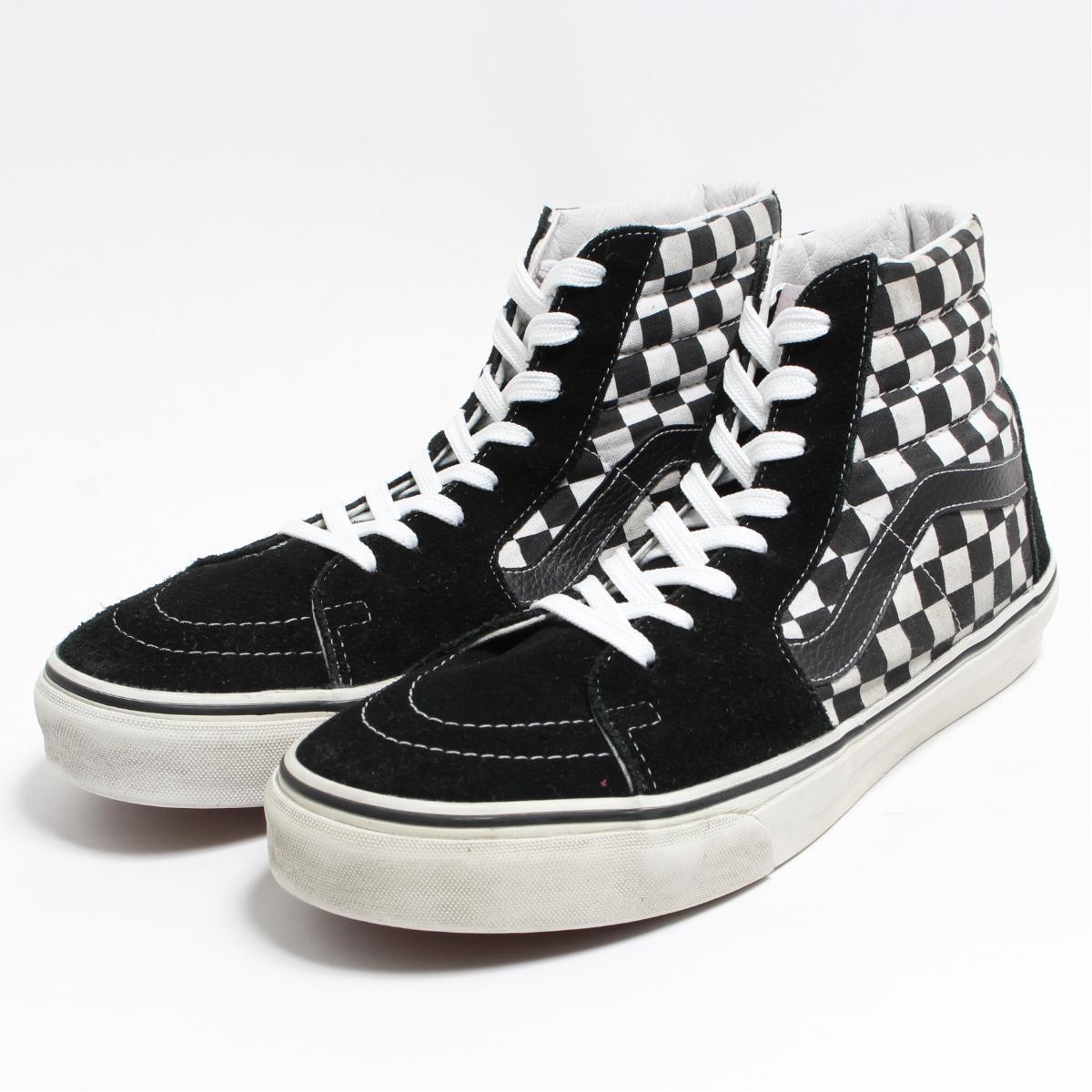 fbace65d8c9 Vans VANS SK8-HI checker flag high-top sneakers US10 men 28.0cm  boo7916