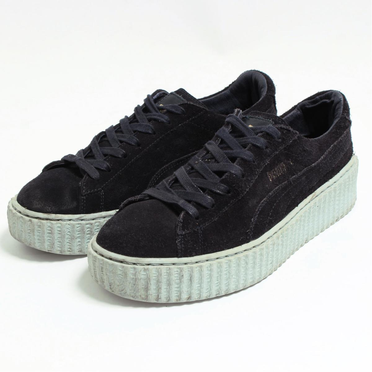 new arrival 9dee0 52007 Puma PUMA X Fenty By Rihanna SUEDE CREEPERS sneakers US8.5 Lady's 25.0cm  /boo7514