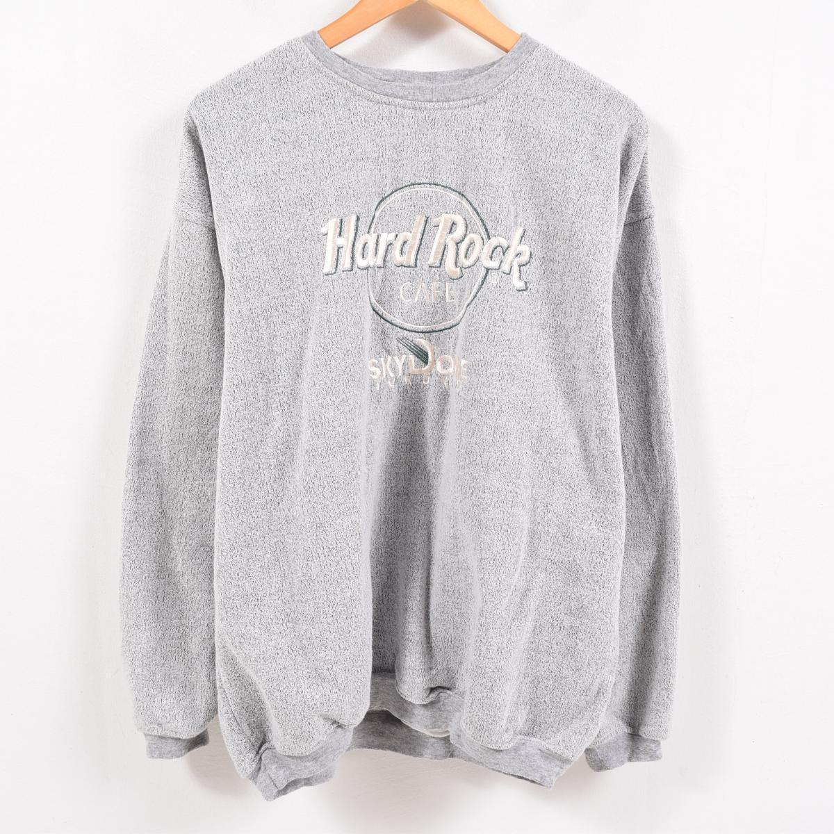 b4f05e6f Men L /wbc3296 made in Hard Rock Cafe HARD ROCK CAFE SKYDOME TORONTO logo  sweat shirt trainer Canada