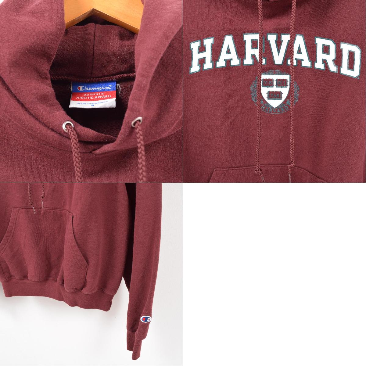 2f0a0d207da6 Champion Champion HARVARD Harvard University college sweat shirt pullover  parka men S  wbc5569