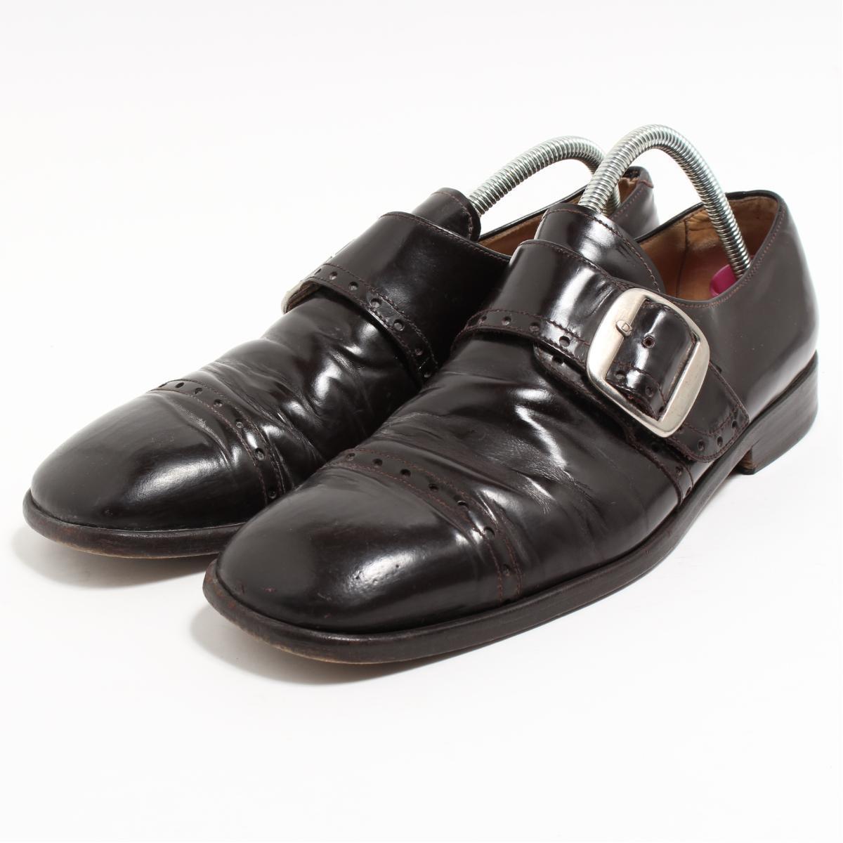ドルチェアンドガッバーナ DOLCE&GABBANA モンクストラップブーツ イタリア製 9.5 メンズ27.5cm /boo7005 【中古】 【190314】