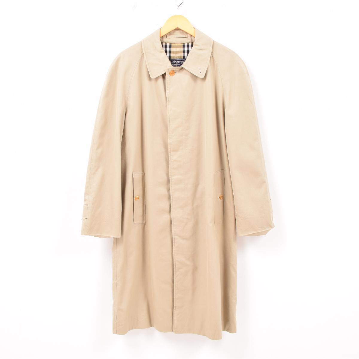 バーバリー Burberry's ステンカラーコート バルマカーンコート 英国製 メンズM /wbc5370 【中古】 【190323】