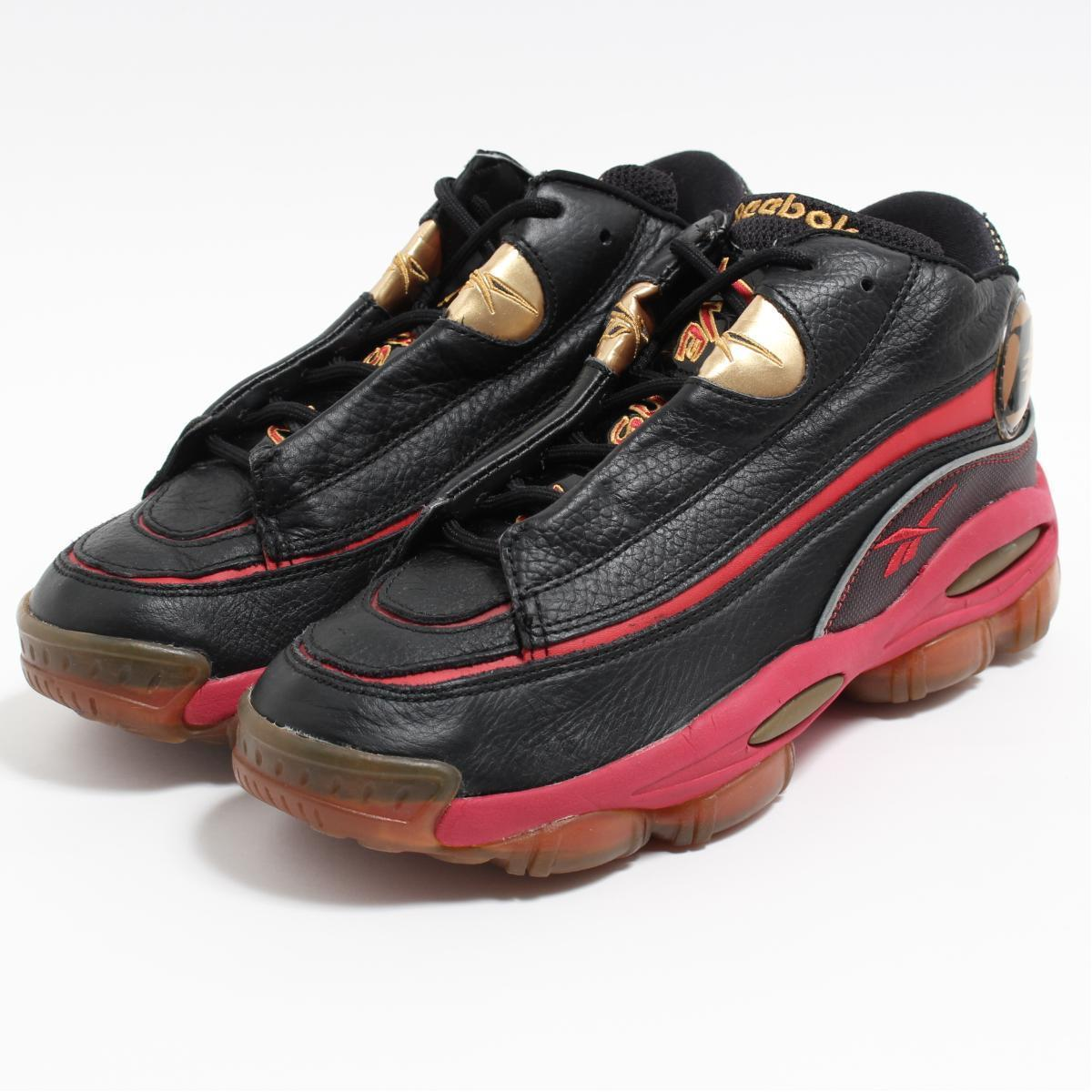 リーボック Reebok THE ANSWER 1 DMX 10 Allen Iverson スニーカー US9 メンズ27.0cm /boo6743 【中古】 【190318】