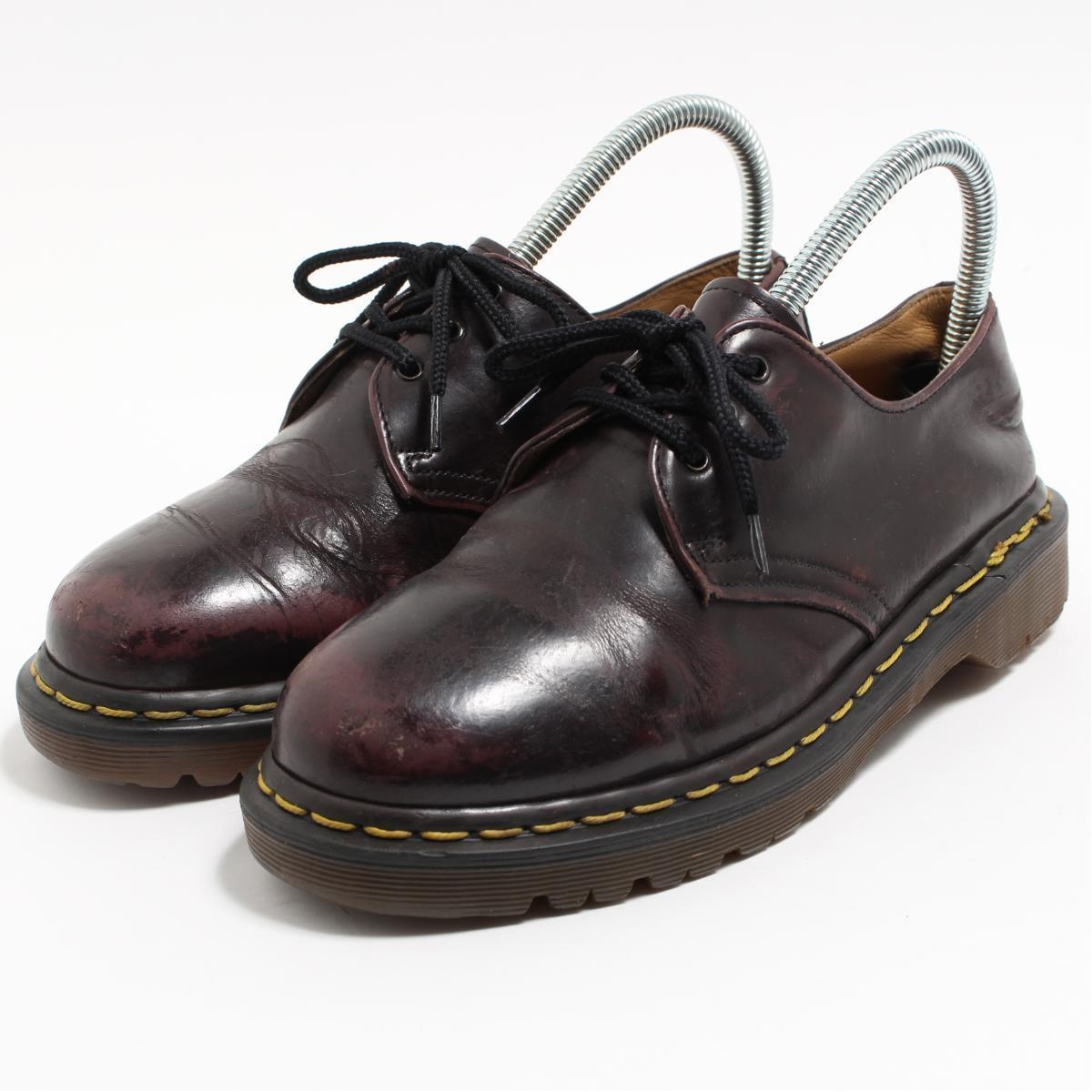 ドクターマーチン Dr.Martens 3ホールシューズ 英国製 UK5 レディース23.5cm /boo6304 【中古】 【190318】