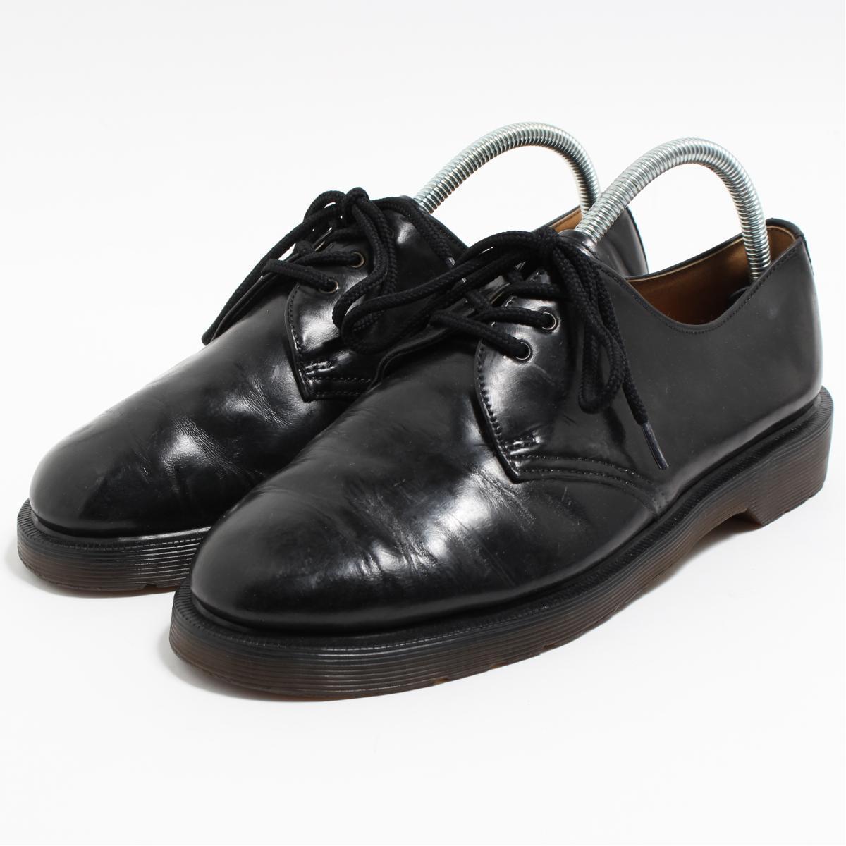 ドクターマーチン Dr.Martens 3ホールシューズ 英国製 UK8.5 メンズ27.0cm /boo6622 【中古】 【190319】