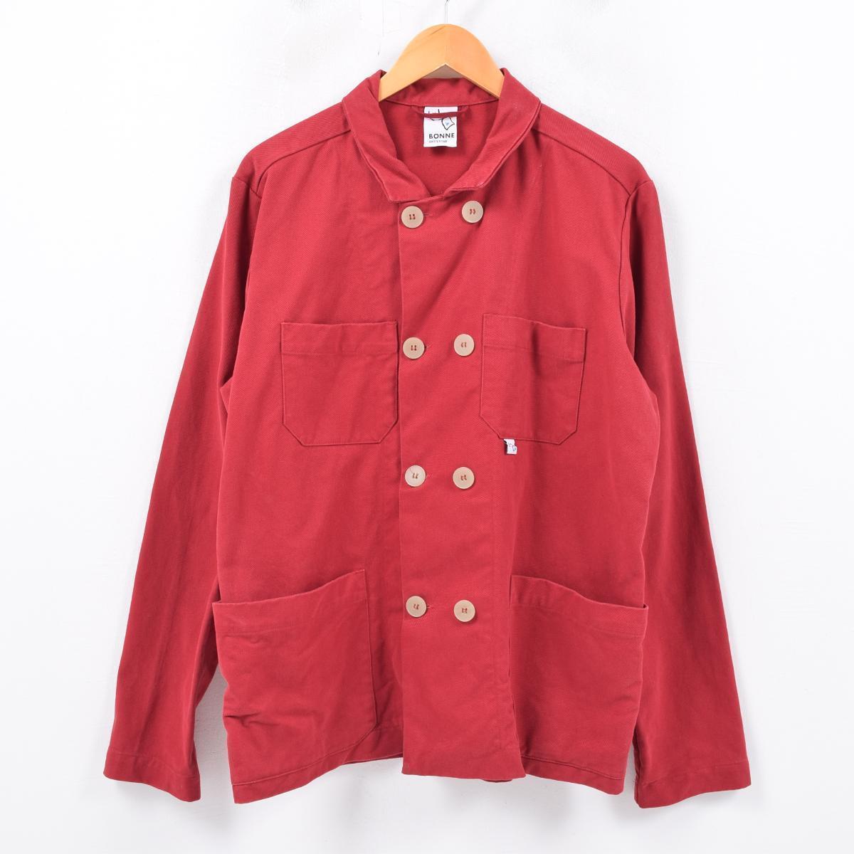BONNE スーツジャケット コットンツイルジャケット オランダ製 メンズM /wbc4893 【中古】 【190322】
