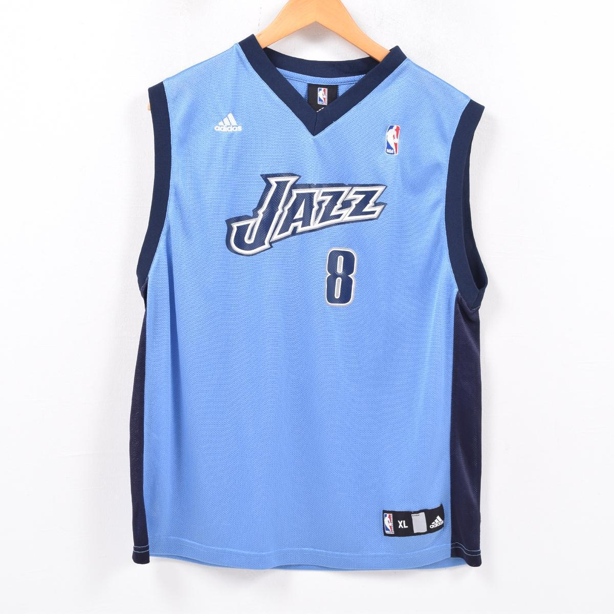 buy popular ee06b 3feec Adidas adidas NBA UTAH JAZZ ユタジャズデロンウィリアムス DERON WILLIAMS game shirt  replica uniform men L /wbd2644